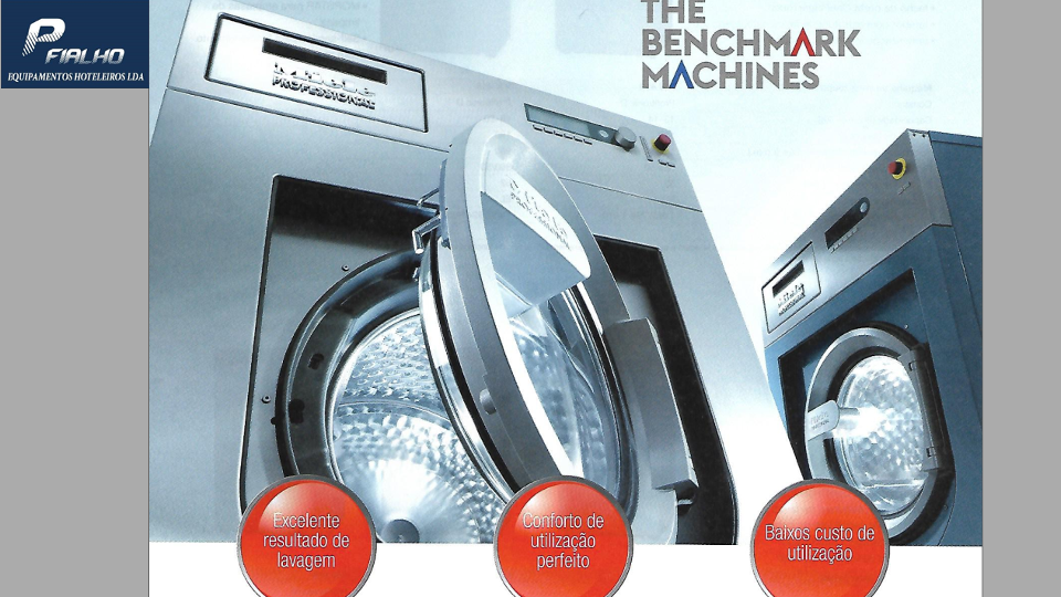 Miele Maquinas Benchmark Performance e Performance Plus