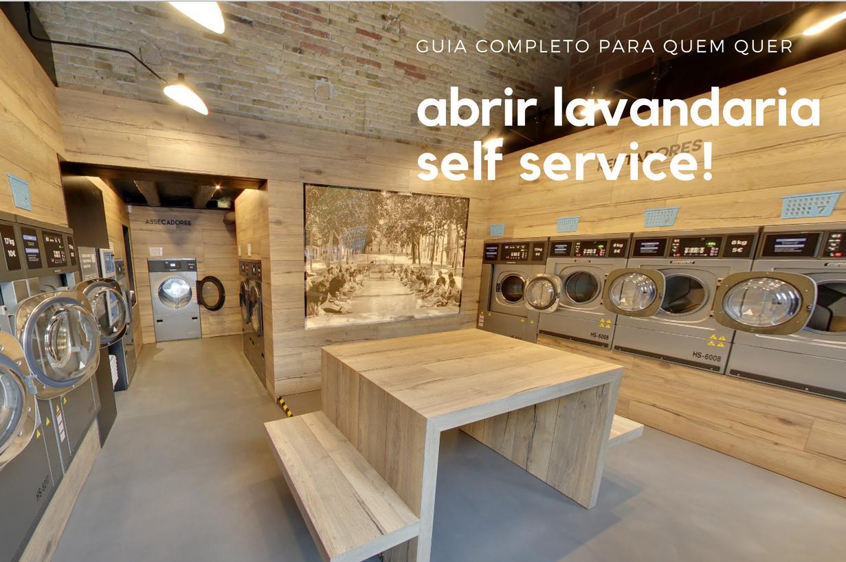 Guia Completo para Abrir Lavandaria Self Service