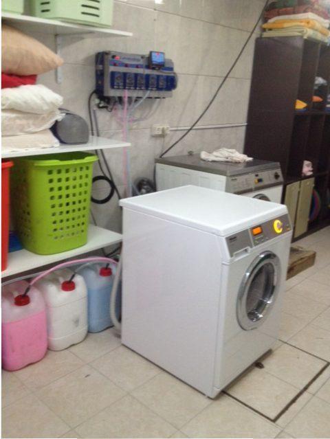 Maquina Lavar Miele Profissional no Centro Jovem Tejo