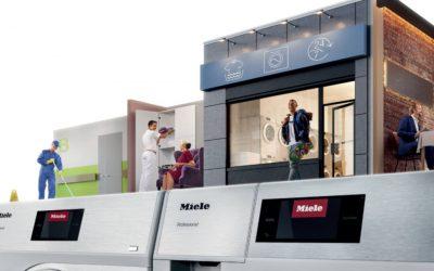 A base para o seu sucesso Miele Professional. Immer Besser. Os novos pequenos gigantes: máquinas de lavar roupa e secadores compactos para utilização profissional.