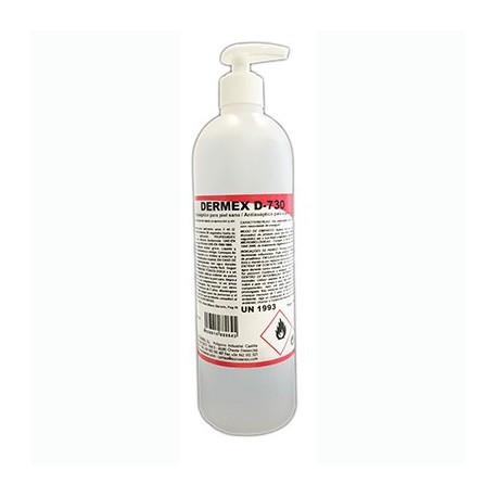 gel desinfectante base alcool dermex D-730 500ml