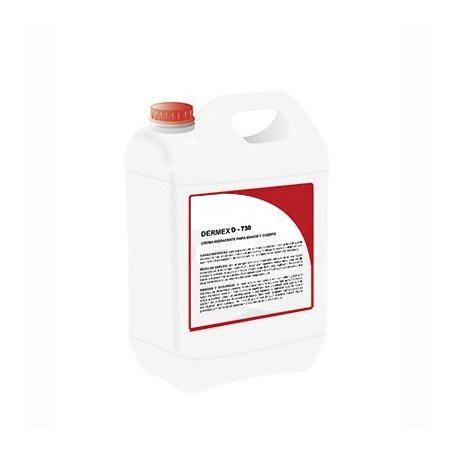 gel desinfectante base alcool dermex D-730 5 Litros